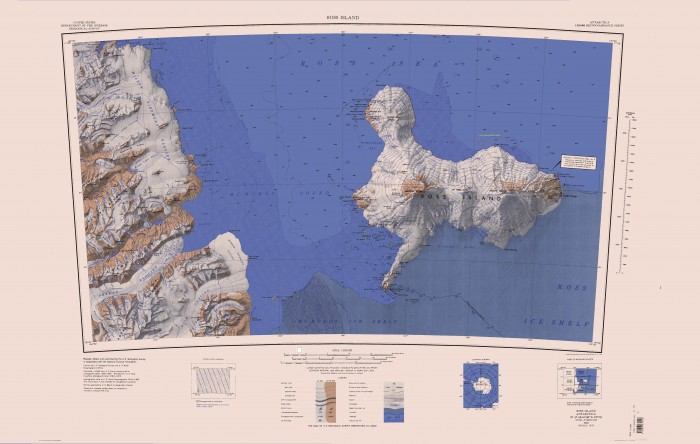 Ross Island Topo Map 700x444 Ross Island wallpapers volcano shackleton maps erebus antarctica