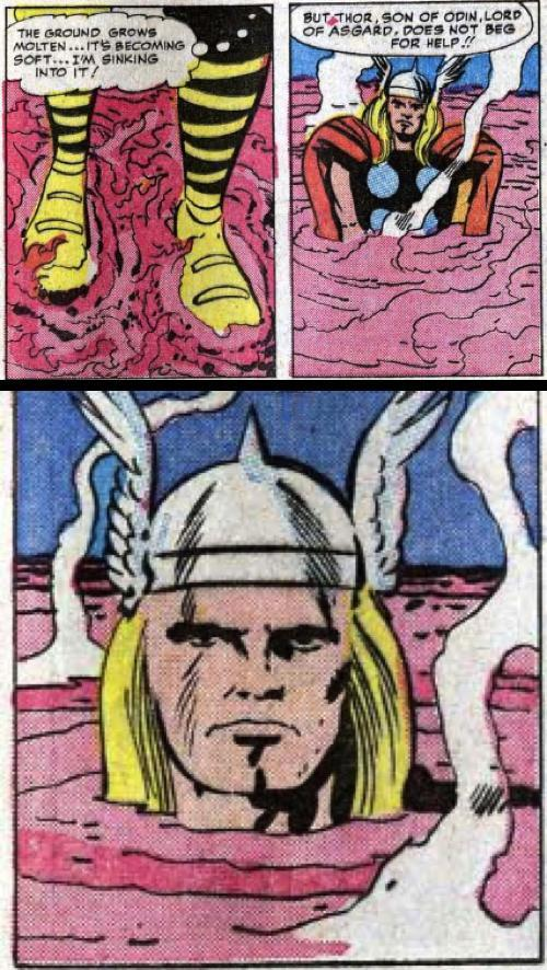 08eNITH Thor is stubborn thor marvel Humor Comic Books