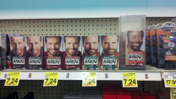 justfor some men 700x394 Just for (some) men theft Racist product hair consumer