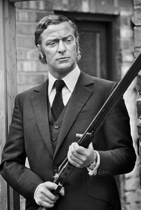 MKVkXv6 Michael Caine being Badass Photography Movies michael caine actor