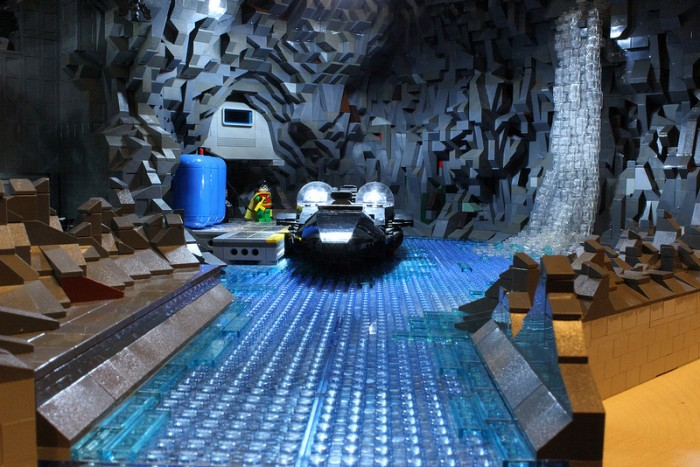 8074988962 a65449e30c c 700x467 Lego Bat Cave lego fun cool cave batman