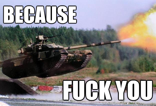 Vehemence Weapons tank Military Meme Humor flying tank flaming emo