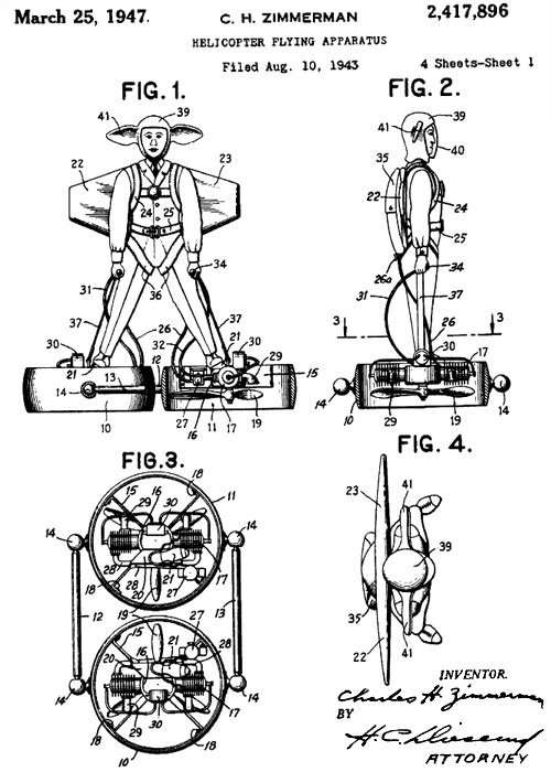 flying fans Fan Man wtf Technology patent old school meatgrinder invention