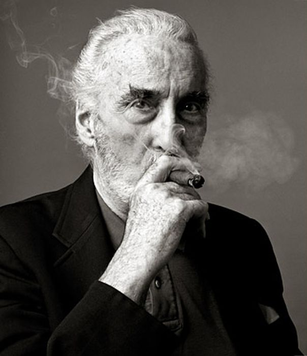 Ak9VDxh Christopher Lee  Christopher Lee Badass