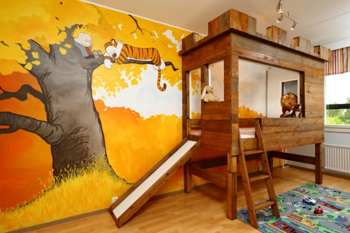 sZsf2Nn 700x466 Calvin and Hobbes bedroom rooms decorating calvin and hobbes awesome