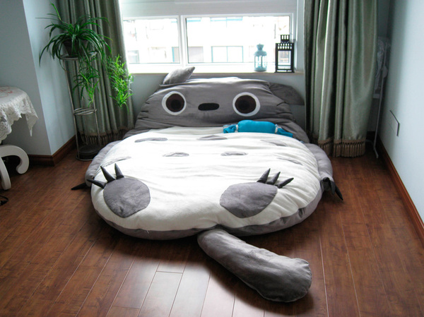 totoro bed totoro bed soft sleep cute cartoon bed