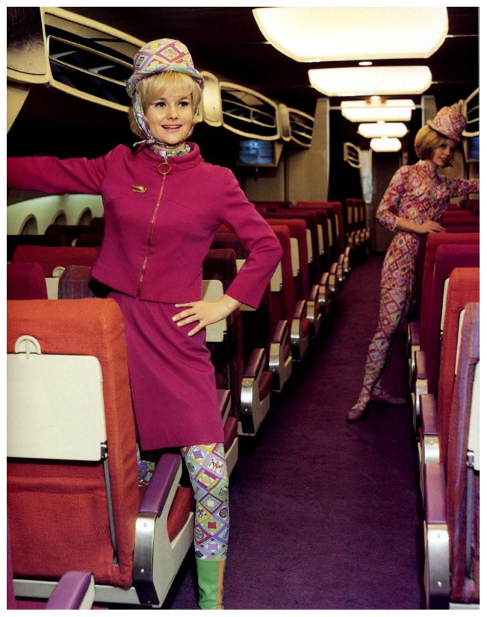 1960 braniff international airways 700x888 When airlines were hip aeroplanes