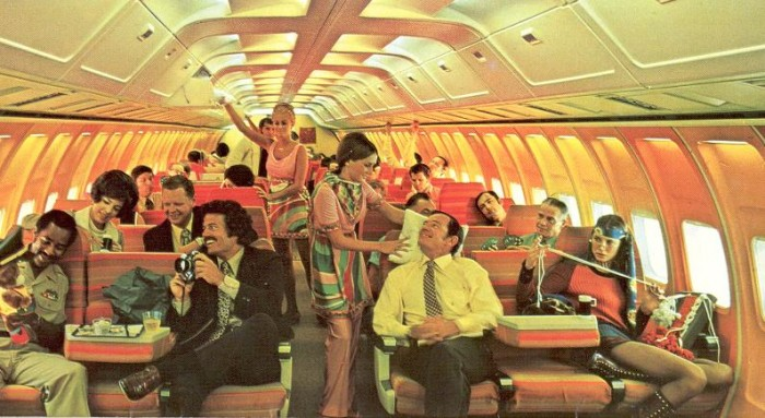 When airlines were hip aeroplanes