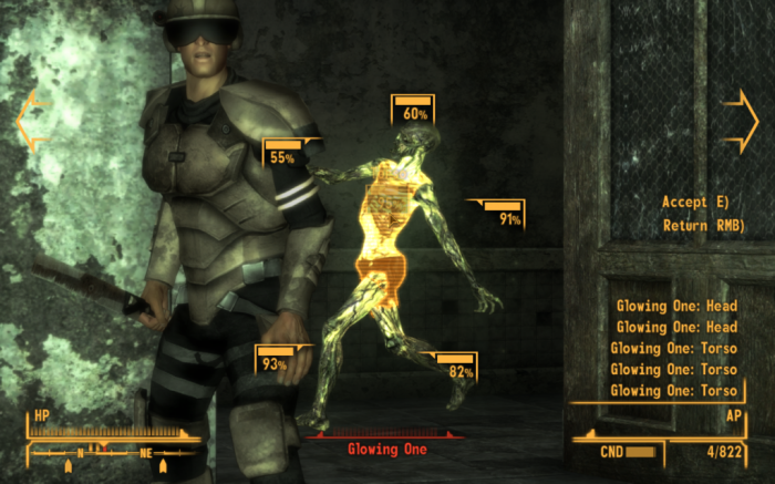 beautiful radioactive butterfly 700x437 Fallout: New Vegas Gaming funny Fallout New Vegas bug