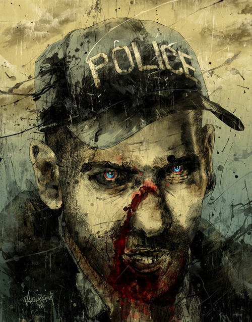 tumblr m6ykb7lcKR1rqw8w3o1 500 Shane Artworks Zombies The walking dead Television Spoilers Shane Art