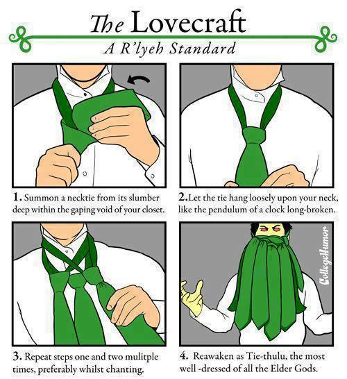 tiethulhu Tiethulhu ties lovecraft Humor fashion Cthulhu cartoon