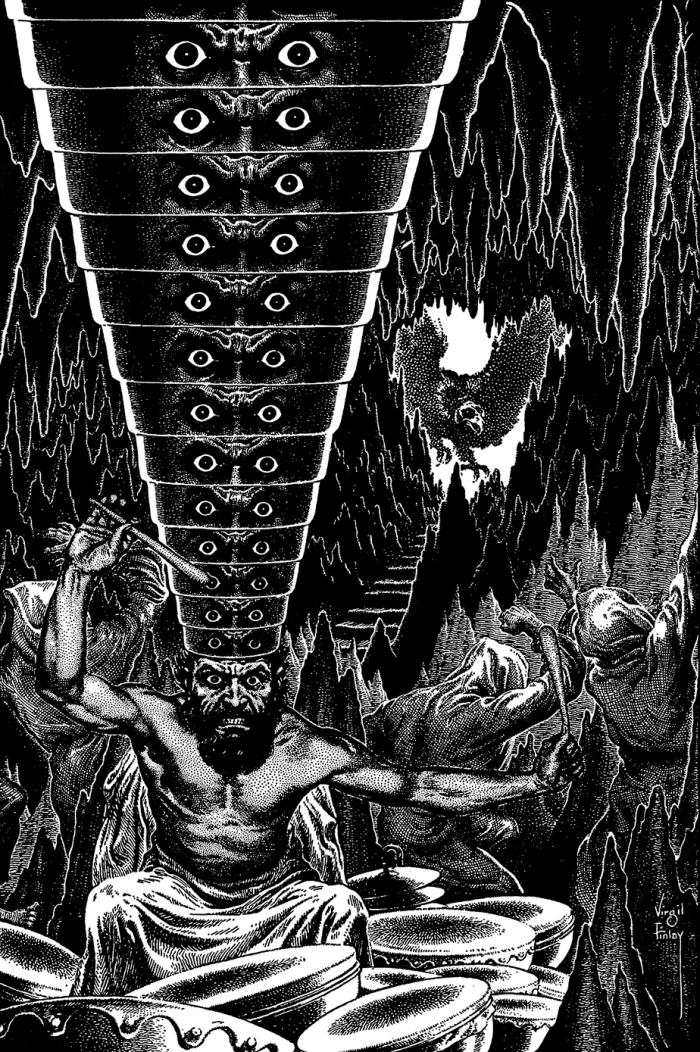 6079207312 5f5493d5d5 o 700x1052 Virgil Finlay 1 wtf weird tales stippling scifi illustration horror fantasy Awesome Things Art animals
