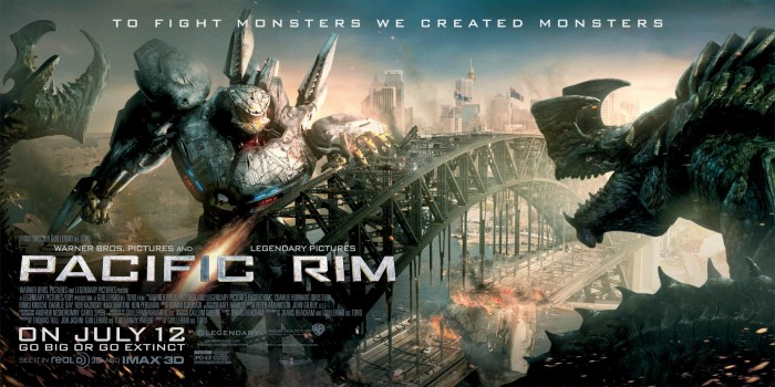 4ba86b9 700x350 Pacific Rim IMAX Posters science fiction posters Pacific Rim Movies movie poster IMAX