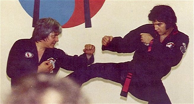 elvis karate 1 Elvis and Ed Parker Kenpo elvis Ed Parker