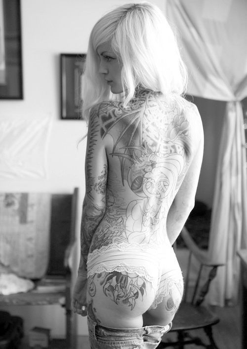 tumblr mldn8d3I9o1rspxdco1 500 N[e]SFW pic dump 7 women Tattoos swimwear sideboob Sexy not exactly safe for work bikinis