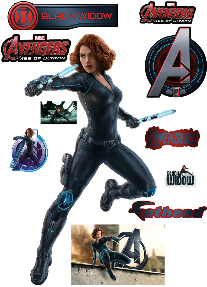 AOU Wall Decor 13 700x968 Age of Ultron's Black Widow
