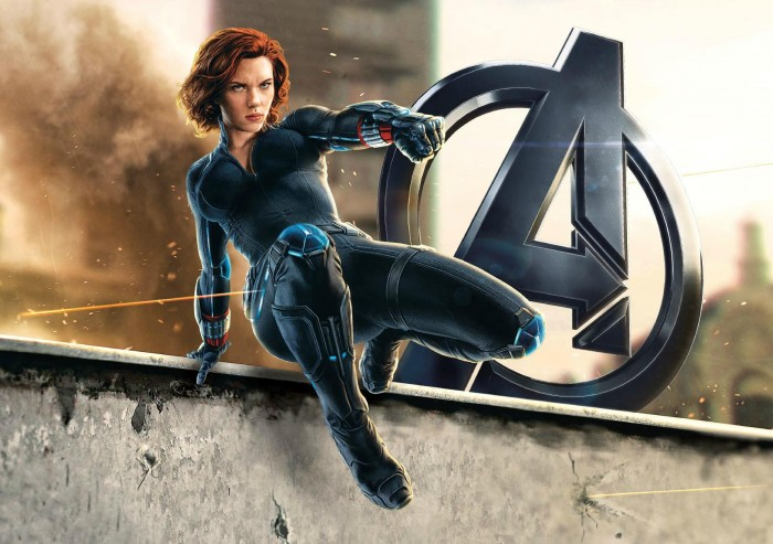 BlackWidowart promoAOU 700x493 Age of Ultron's Black Widow