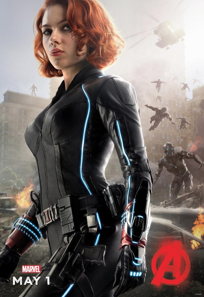 Black Widow AOU Poster 700x1021 Age of Ultron's Black Widow
