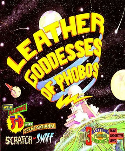 leather goddesses of phobos 412x499 with Scratch and Sniff!