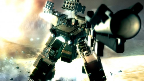Armored Core 4 Screensaver  PS3  4383 500x281 More, More armored core walls Gaming Fantasy   Science Fiction