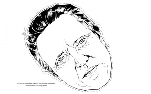 christopherwalkenmask 500x312 Christopher Walken Mask