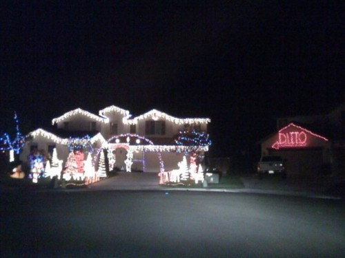 CHRISTMA 500x375 neighbors creative christmas light  xmas X Mas Humor