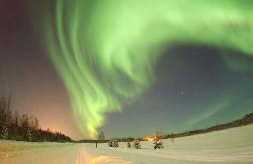Polarlicht 500x325 Northern Lights Wallpaper Nature Awesome Things