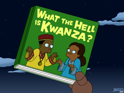 kwanza 500x375 Kwanza   What the hell is it? xmas X Mas Wallpaper Television Humor