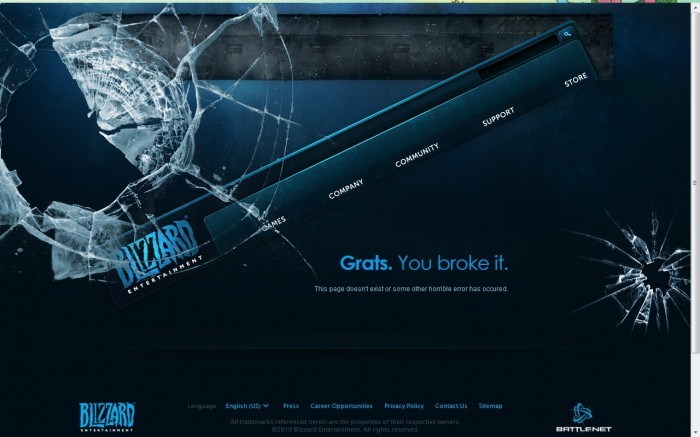 blizzard 700x437 I broke the Blizzard site