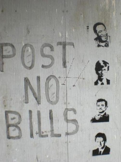 post no bills Post No Bills Humor