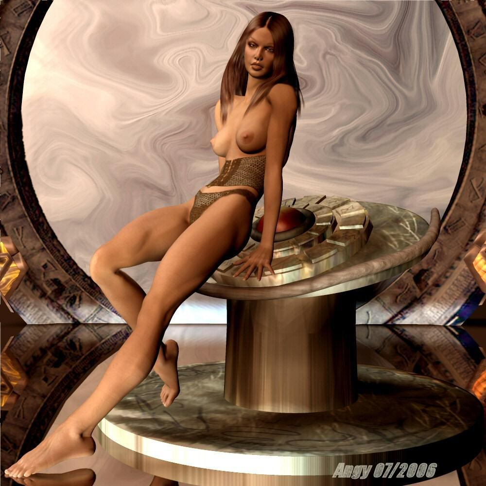 stargate babes nude