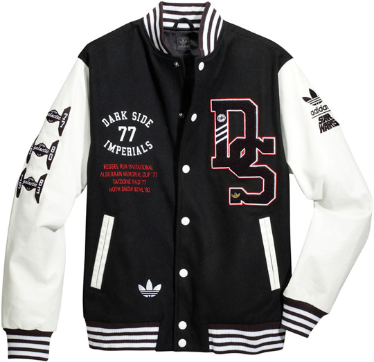 adidas star wars fall winter 2010 varsity jacket super death star stormtrooper 2 Adidas Star Wars jackets star wars