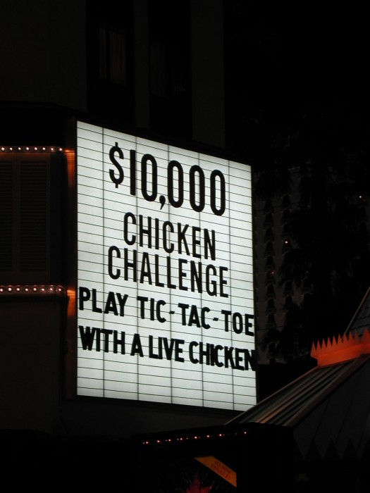 Vegas Chicken 525x700 Live Chicken wtf Gaming