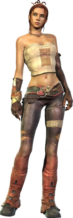 Enslaved Character Art Trip 234x700 Enslaved Odyssey to the West