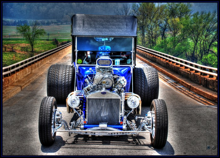 Car On Bridge by Brent Blankinship 700x504 Car On Bridge by Brent Blankinship