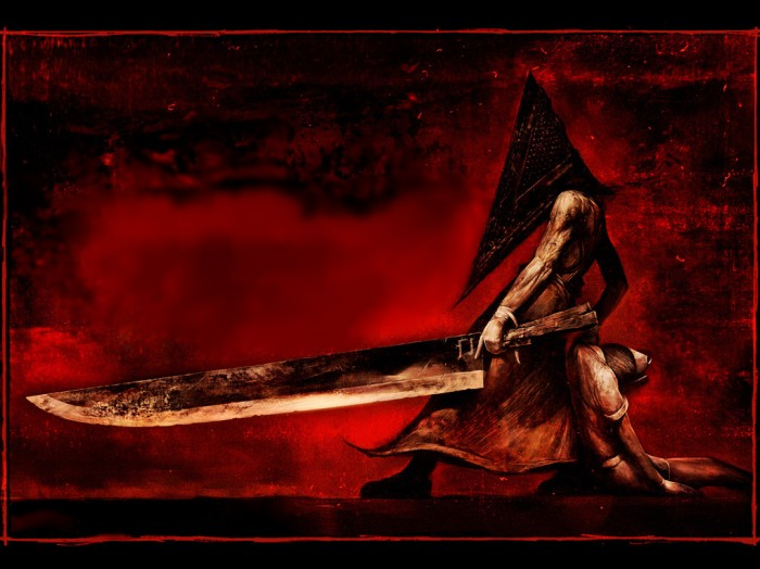 pyramid head homecoming by zzzp03 1 700x524 Silent Hill   Pyramid Head Wallpaper Gaming