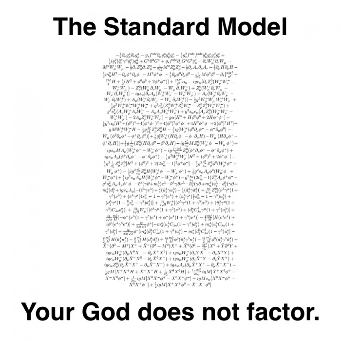 The Standard Model 700x700 Your God Does Not Factor