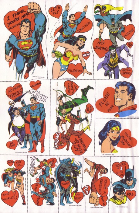 SuperFriends Valentines Page7 458x700 SuperFriends Valentines Valentines Day Humor Comic Books