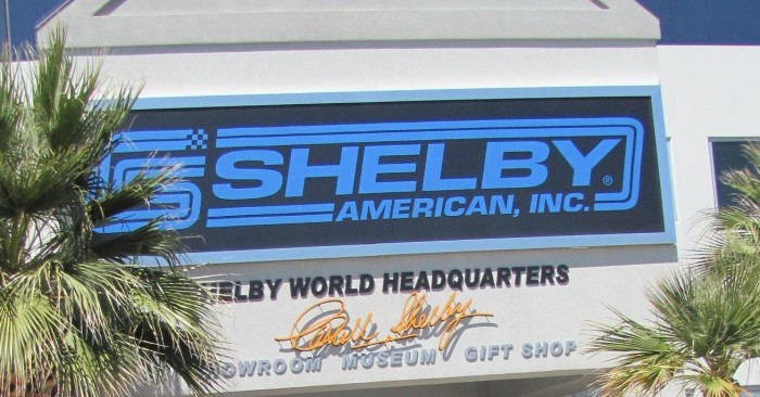 Shebly Sign 700x366 The Shelby Auto Museum 1