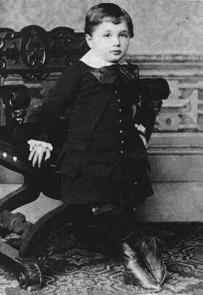 Albert Einstein as a 4yo child Einstein