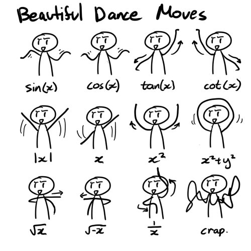 217795 10150543193950177 623600176 18055259 1257113 n Mathematical Dance Science! Humor