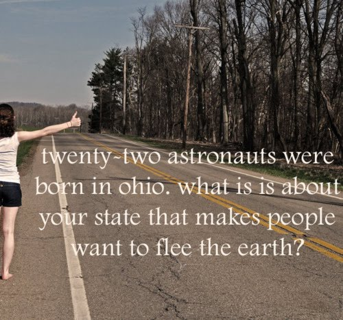 austronauts of ohio Ohioans flee Earth