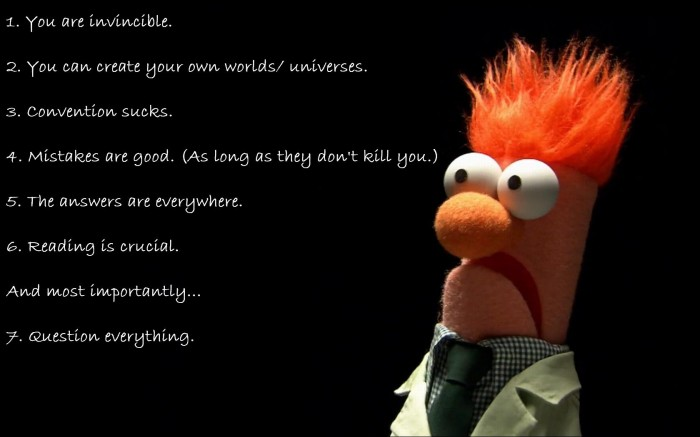 beaker 700x437 Muppet Rules of Science