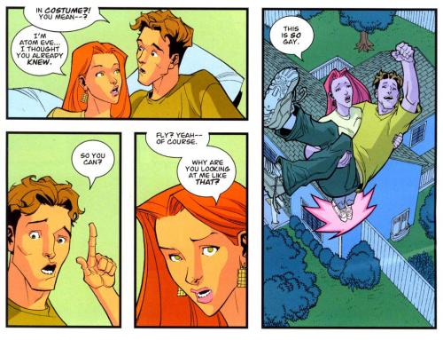 Invincible Flight 2.thumbnail This is also Gay Humor Comic Books