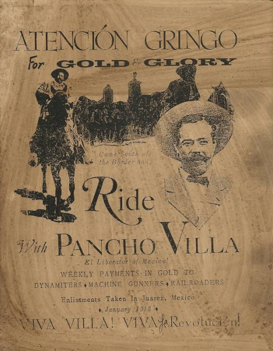 pancho villa 03 545x700 Hey Gringo! Ride with Pancho Villa