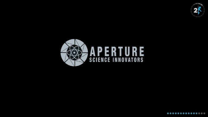 Aperture Science Innovators 700x393 Aperture Science Innovators   Salt, Asbestos, Curtains Wallpaper Portal 2 Gaming