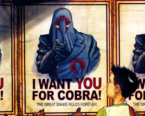 cobra wants you.thumbnail Cobra recruitment poster Comic Books