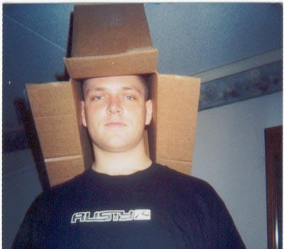me box man of many hats   Justin Sad :( Military Humor