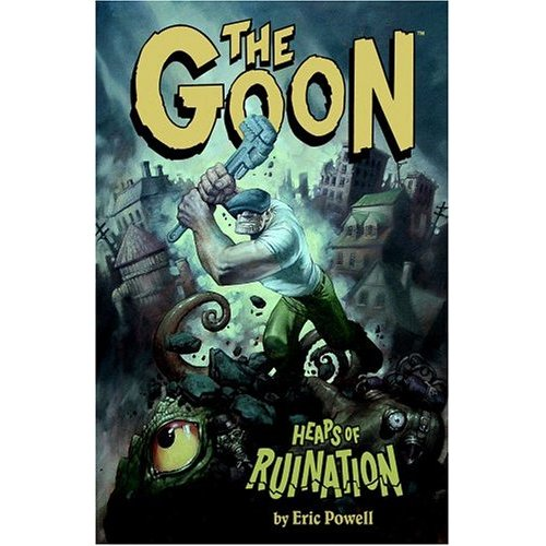 Thegoon3 Heaps of Ruination wtf Science! Humor Fantasy   Science Fiction Comic Books
