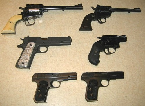 my14 001 500x365 Hand Gun Collection Weapons MCS Collections